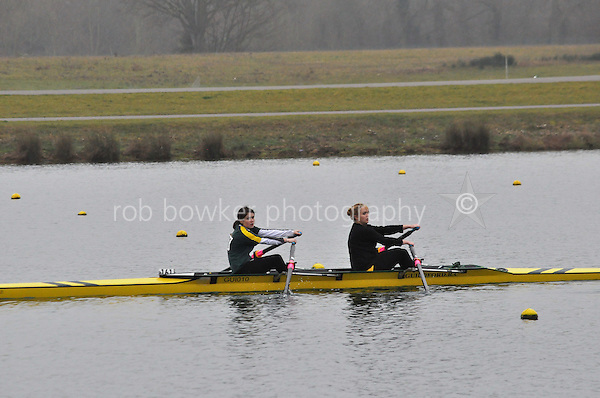 161 GuildfordRC W.J15A.4x+..Marlow Regatta Committee Thames Valley Trial Head. 1900m at Dorney Lake/Eton College Rowing Centre, Dorney, Buckinghamshire. Sunday 29 January 2012. Run over three divisions.
