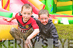 10.L-R Aaron Murphy and Jack Culhane at the Knockdown Fun Day  held on Sunday at Killeaney AFC's ground on Sunday afternoon.