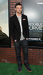 Justin Timberlake at the premiere for Trouble With The Curve, at The Village Theatre in Westwood, CA. September 19, 2012