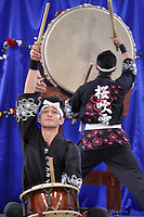 ATENÇÃO EDITOR FOTO EMBARGADA PARA VEÍCULOS INTERNACIONAIS - SAO PAULO, SP, 22 SETEMBRO DE 2012 – HARU MATSURI,  FESTIVAL DA PRIMAVERA -  A segunda edição do Haru Matsuri (Festival da Primavera) que está sendo realizado neste sábado (22), na Catedral Budista Nikkyoji no bairro da Vila Mariana, zona sul da cidade. Tradicional no Japão, a festa celebra a chegada da estação das flores. Música, dança e outras atividades fazem parte da programação, além de pratos típicos, como kare, guioza e harumaki doce. O evento começa às 11h e segue até 17h, com entrada gratuita. FOTO LEVI BIANCO BRAZIL PHOTO PRESS.