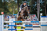 AUS-Christopher Burton rides Quality Purdey during the Show Jumping for the CCI5*-L. Final-2nd. Les 5 Etoiles de Pau. Pyrenees Atlantiques. France. Sunday 27 October. Copyright Photo: Libby Law Photography