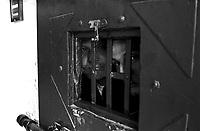 Roma 2000.Carcere di Regina Coeli  .Detenuti in cella.Regina Coeli (Queen of Heaven) Prison.Prisoner in the cell