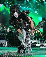 ALBUQUERQUE NM - AUGUST 7:  Paul Stanley of Kiss performs at the Hard Rock Casino Albuquerque on August 7, 2012 in Albuquerque, New Mexico. /NortePhoto.com<br /> <br />  **CREDITO*OBLIGATORIO** *No*Venta*A*Terceros*<br /> *No*Sale*So*third* ***No*Se*Permite*Hacer Archivo***No*Sale*So*third*