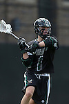12 February 2017: CSU's Stephen Masi. The Duke University Blue Devils hosted the Cleveland State University Vikings at Koskinen Stadium in Durham, North Carolina in a 2017 Division I College Men's Lacrosse match. Duke won the game 22-7 in overtime.