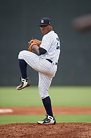 GCL Yankees East pitcher Yon Castro (23) during a Gulf Coast League game against the GCL Phillies East on July 31, 2019 at Yankees Minor League Complex in Tampa, Florida.  GCL Phillies East defeated the GCL Yankees East 4-3 in the second game of a doubleheader.  (Mike Janes/Four Seam Images)