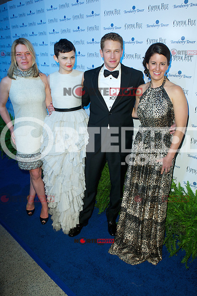 WASHINGTON, DC - APRIL 28: Katherine Nicholls, Ginnifer Goodwin. Josh Dallas andSarah Schaffer  attends Capital File magazine's WHCAD After - Party hosted by Claire Danes at The Newseum in Washington, D.C  on April 28th, 2012  ( Photo by Chaz Niell/Media Punch Inc.)