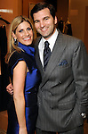 Honoree Greggory Burk and her husband Patrick at the Houston Chronicle's Best Dressed announcement party at Neiman Marcus Tuesday Jan. 19,2010.(Dave Rossman/For the Chronicle)