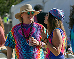 "A photograph taken during the Pops on the River ""A night at Woodstock"" concert at Wingfield Park in downtown Reno on Saturday, July 13, 2019."