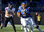 BROOKINGS, SD - DECEMBER 2: Taryn Christion # 3 from South Dakota State breaks loose against Northern Iowa during their FCS Division 1 playoff game Saturday afternoon at Dana J. Dykhouse Stadium in Brookings, SD. (Photo by Dave Eggen/Inertia)
