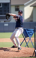 Boston Red Sox pitcher Roger Clemens during spring training circa 1992 at Chain of Lakes Park in Winter Haven, Florida.  (MJA/Four Seam Images)