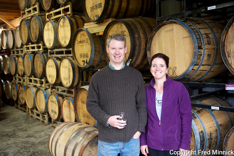 Tomsfoolery Distillery distills and bottles brandy and whiskey in the Cleveland, Ohio, area. It's craft distillery using an old pot still from Portugal.