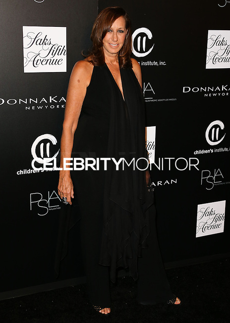 CULVER CITY, CA, USA - OCTOBER 08: Donna Karan arrives at the 5th Annual PSLA Autumn Party benefiting Children's Institute, Inc. held at 3Labs on October 8, 2014 in Culver City, California, United States. (Photo by Xavier Collin/Celebrity Monitor)