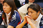 (L to R) Tatsuhiro Yonemitsu, Saori Yoshida,Kaori Icho, SEPTEMBER 9, 2013 - Wrestling : Japanese Wrestling team watched presentation for an additional game determination of the Summer Olympic Games 2020  at Ajinomoto Traning center, Tokyo, Japan. (Photo by Yusuke Nakanishi/AFLO SPORT)