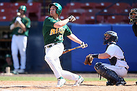 March 14, 2010:  Outfielder Eric Nutzhorn (28) of North Dakota State University Bison vs. Akron University at Chain of Lakes Park in Winter Haven, FL.  Photo By Mike Janes/Four Seam Images