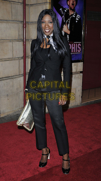 LONDON, ENGLAND - OCTOBER 23: Heather Small attends the &quot;Memphis&quot; press night performance, Shaftesbury Theatre, Shaftesbury Avenue, on Thursday October 23, 2014 in London, England, UK. <br /> CAP/CAN<br /> &copy;Can Nguyen/Capital Pictures