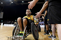 Ryan Scott (AUS) vs Japan<br /> Australian Wheelchair Rugby Team<br /> 2018 IWRF WheelChair Rugby <br /> World Championship / Day 4<br /> Sydney  NSW Australia<br /> Wednesday 8th August 2018<br /> &copy; Sport the library / Jeff Crow / APC