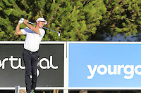 Richard Green (AUS) tees off the 8th tee during Thursday's Round 1 of the 2016 Portugal Masters held at the Oceanico Victoria Golf Course, Vilamoura, Algarve, Portugal. 19th October 2016.<br /> Picture: Eoin Clarke | Golffile<br /> <br /> <br /> All photos usage must carry mandatory copyright credit (&copy; Golffile | Eoin Clarke)
