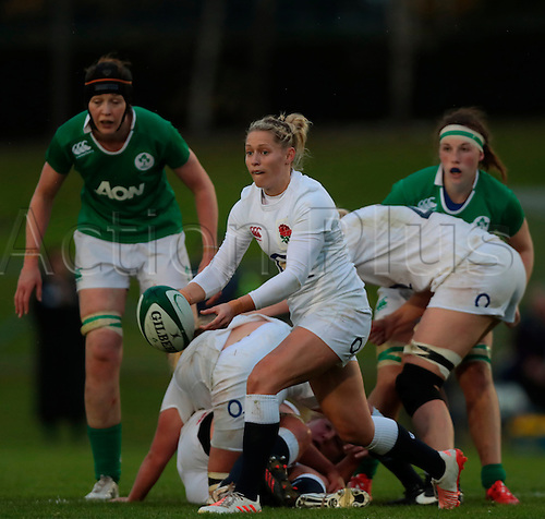 13.11.2016. UCD Bowl, Dublin, Ireland. November Series. Ireland Women versus England.<br />