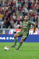 27th October 2019; Olympic Grande Torino Stadium, Turin, Piedmont, Italy; Serie A Football, Torino versus Cagliari; Lucas Castro of Cagliari controls the ball - Editorial Use
