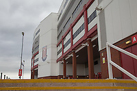 General View of the Britannia Stadium, home of Stoke City Football Club at the Britannia Stadium, Stoke-on-Trent, England on 5 August 2015. Photo by David Horn.