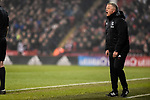Chris Wilder manager of Sheffield Utd shouts instructions during the championship match at the Bramall Lane Stadium, Sheffield. Picture date 10th April 2018. Picture credit should read: Harry Marshall/Sportimage