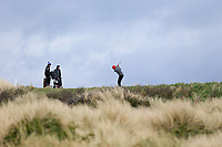 James Fox (Portmarnock) during the 3rd round of matchplay at the 2018 West of Ireland, in Co Sligo Golf Club, Rosses Point, Sligo, Co Sligo, Ireland. 02/04/2018.<br /> Picture: Golffile | Fran Caffrey<br /> <br /> <br /> All photo usage must carry mandatory copyright credit (&copy; Golffile | Fran Caffrey)