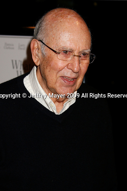 """WEST HOLLYWOOD, CA. - June 08: Actor Carl Reiner arrives at the Los Angeles premiere of """"Whatever Works"""" at the Pacific Design Center on June 8, 2009 in West Hollywood, California."""