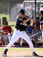 Charles Blackmon / Colorado Rockies 2008 Instructional League..Photo by:  Bill Mitchell/Four Seam Images