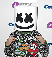 PHILADELPHIA, PA - DECEMBER 05: Marshmello attends Q102's Jingle Ball 2018 at Wells Fargo Center on December 5, 2018 in Philadelphia, Pennsylvania. Photo: imageSPACE/MediaPunch