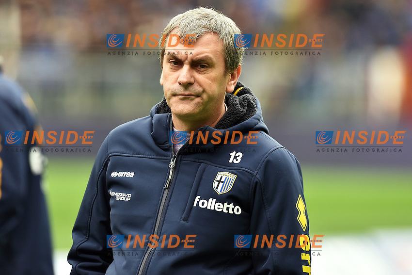 Giampietro Manenti Presidente Parma <br /> Roma 15-02-2015 Stadio Olimpico, Football Calcio Serie A AS Roma - Parma Foto Andrea Staccioli / Insidefoto
