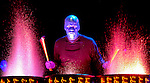 Blue Man Group performs at the Von Braun Center arena.  Bob Gathany photo.