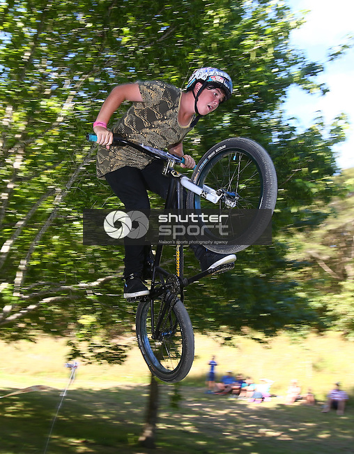 Zero Gravity Freestyle Bike Event, Nelson BikeFest 2015, Brandford Reserve, Gravity Jump Track, 07 February, Photographer: Evan Barnes/Shuttersport