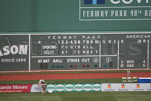 21 JUL 2010:  Fenway Park. Celtic defeated  Sporting Clube de Portugal 6-5 on penalty kicks in an international friendly match, part of the Fenway Football Challenge, at Fenway Park in Boston, Massachusetts on July 21, 2010.