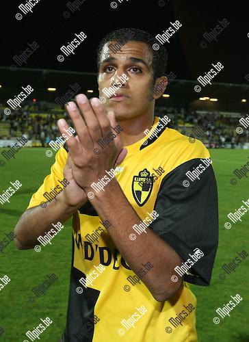 2009-08-26 / Voetbal / seizoen 2009-2010 / SK Lierse - Antwerp FC / El Gabas scoorde de 1-2..Foto: Maarten Straetemans (SMB)
