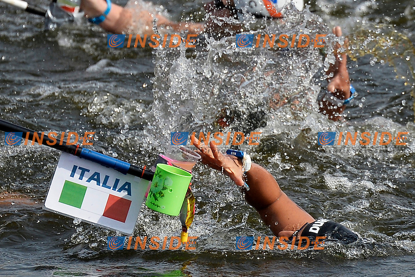 Alice Franco Italia <br /> Open Water 25Km <br /> 32nd LEN European Championships  <br /> Berlin, Germany 2014  Aug.13 th - Aug. 24 th<br /> Day05 - Aug. 17<br /> Photo Andrea Staccioli/Deepbluemedia/Insidefoto
