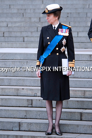 """PRINCESS ANNE.attended the Service of Commemoration to mark the end of combat operations in Iraq in St Paul's Catherdral, London_09/10/2009.Mandatory Photo Credit: ©Dias/Newspix International..**ALL FEES PAYABLE TO: """"NEWSPIX INTERNATIONAL""""**..PHOTO CREDIT MANDATORY!!: NEWSPIX INTERNATIONAL(Failure to credit will incur a surcharge of 100% of reproduction fees)..IMMEDIATE CONFIRMATION OF USAGE REQUIRED:.Newspix International, 31 Chinnery Hill, Bishop's Stortford, ENGLAND CM23 3PS.Tel:+441279 324672  ; Fax: +441279656877.Mobile:  0777568 1153.e-mail: info@newspixinternational.co.uk"""