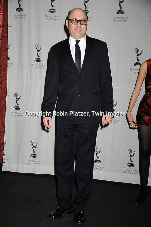 actor Willie Garson..posing for photographers at The 36th Annual International Emmy Awards on November 24, 2008 at The New York Hilton Hotel. ....Robin Platzer, Twin Images
