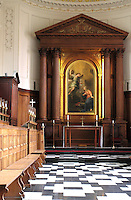 Clare College, Cambridge - The Chapel.Cambridge, U.K - A variety of scenes at the historic university city of Cambridge, England -  September 2nd 2012..Photo by Keith Mayhew