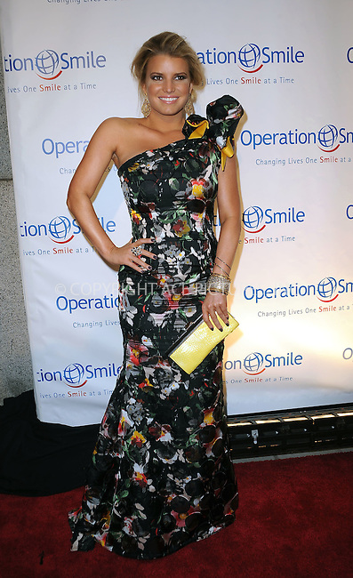 WWW.ACEPIXS.COM . . . . . ....May 6 2010, New York City....Jessica Simpson arriving at the Operation Smile Annual Gala at Cipriani Wall Street on May 6, 2010 in New York City.....Please byline: KRISTIN CALLAHAN - ACEPIXS.COM.. . . . . . ..Ace Pictures, Inc:  ..tel: (212) 243 8787 or (646) 769 0430..e-mail: info@acepixs.com..web: http://www.acepixs.com