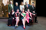 "Orancio Ortega, Julio Bravo, Blanca Oteyza, Fran Calvo, Jose Emilio Vera, Ruth Rubio, Noemi Rodriguez, Lola Baldrich and Rebeca Matellan during the theater play of ""Addio del Passato"" at Fernan Gomez Theater in Madrid. March 15, 2017. (ALTERPHOTOS/Borja B.Hojas)"