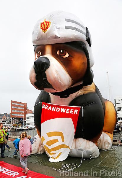 Hond van de Brandweer van Alkmaar