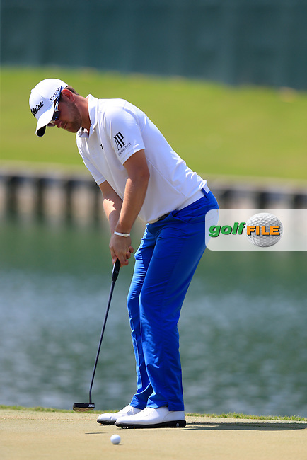 Bernd Wiesberger (AUT) during round 1of the Players, TPC Sawgrass, Championship Way, Ponte Vedra Beach, FL 32082, USA. 12/05/2016.<br /> Picture: Golffile | Fran Caffrey<br /> <br /> <br /> All photo usage must carry mandatory copyright credit (&copy; Golffile | Fran Caffrey)