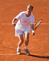 08-07-13, Netherlands, Scheveningen,  Mets, Tennis, Sport1 Open, day one, Sander Groen (NED)<br /> <br /> <br /> Photo: Henk Koster