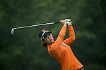 Seung Hyun Lee of South Korea tees off at the 5th hole during Round 4 of the World Ladies Championship 2016 on 13 March 2016 at Mission Hills Olazabal Golf Course in Dongguan, China. Photo by Victor Fraile / Power Sport Images