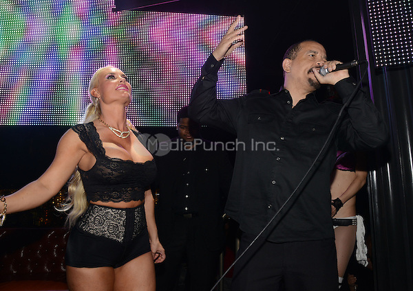 LAS VEGAS, NV - SEPTEMBER 1: Nicole 'Coco' Austin and Ice T appearance at Sunday School at Body English Nightclub & Afterhours at the Hard Rock Hotel on September 1, 2013 in Las Vegas, Nevada. Credit: Kabik/Staritepics /MediaPunch Inc.