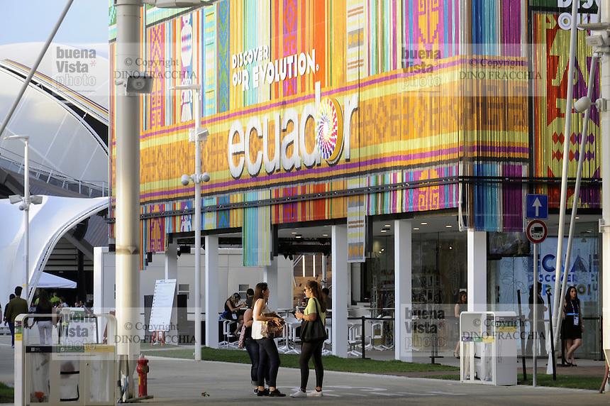 - Milano, Esposizione Mondiale Expo 2015, padiglione dell' Ecuador<br /> <br /> - Milan, the World Exhibition Expo 2015, pavillion of Ecuador