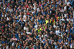 12.05.2018, Volksparkstadion, Hamburg, GER, 1.FBL. Hamburger SV vs Borussia Moenchengladbach,  im Bild   <br /> <br /> jubel hsv fans ordner <br /> <br /> Foto &copy; nordphoto / Kokenge