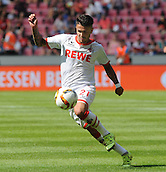 01.08.2015. RheinEnergieStadion, Cologne, Germany. Colonia Cup  FC Cologne versus Stoke City. Leonardo Bittencourt Cologne