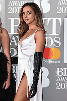 Jade Thirwall (Little Mix)<br /> arrives for the BRIT Awards 2017 held at the O2 Arena, Greenwich, London.<br /> <br /> <br /> &copy;Ash Knotek  D3233  22/02/2017