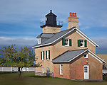 Ontonagon County, MI<br /> Ontonagon Light (1853) stands at the mouth of the Ontonagon River,  Lake Superior